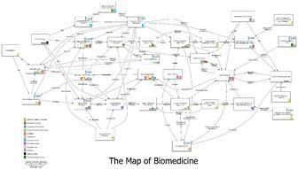 The Map of Biomedicine