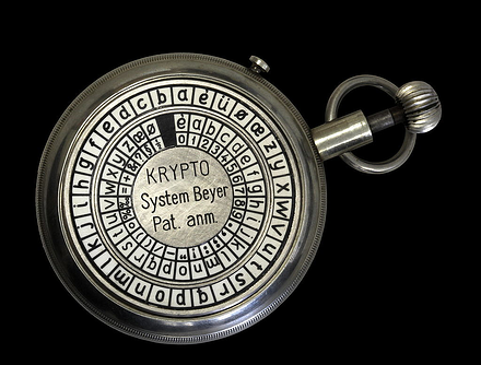 Beyer cryptographic watch