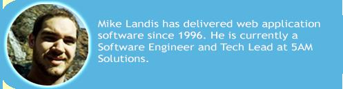 Mike Landis blog author tag